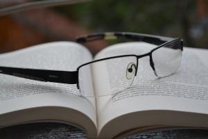 ノートとメガネ